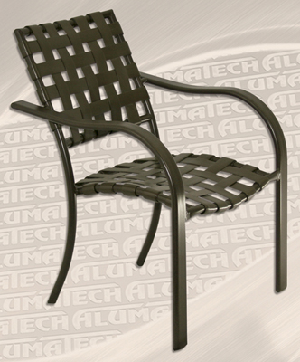 Commercial Stacking Criss Cross Outdoor Chair