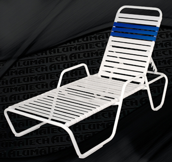 Patio chairs for the pool patio porch and lawn for Aluminum commercial stack chaise lounge